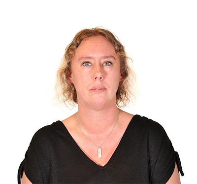 Porträttbild på Anette Lundh.