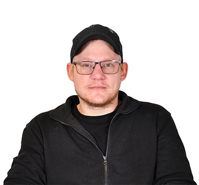 porträtt på Christopher Budnik.