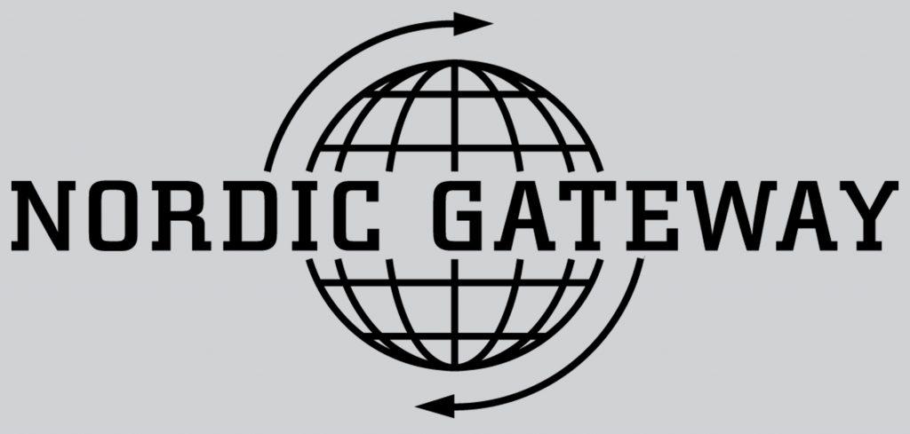 svart logotype